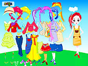 Colorful Doll Dressup